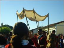 Procissão Corpus Christ em Pirenópolis - Goiás